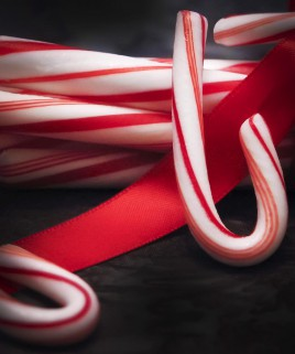 Candy Cane Scented Candle