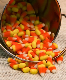 Candy Corn Scented Candle