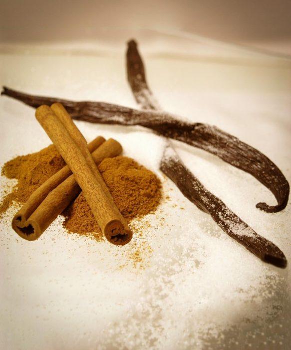 Cinnamon Vanilla Scented Candle
