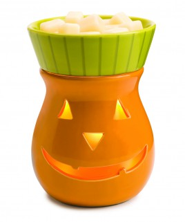 Jack-O-Lantern Seasonal Candle Warmer