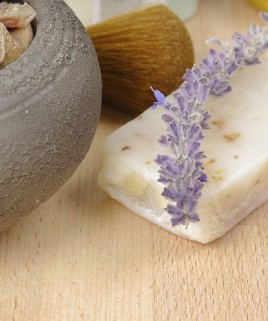Lavender Vanilla Scented Candle