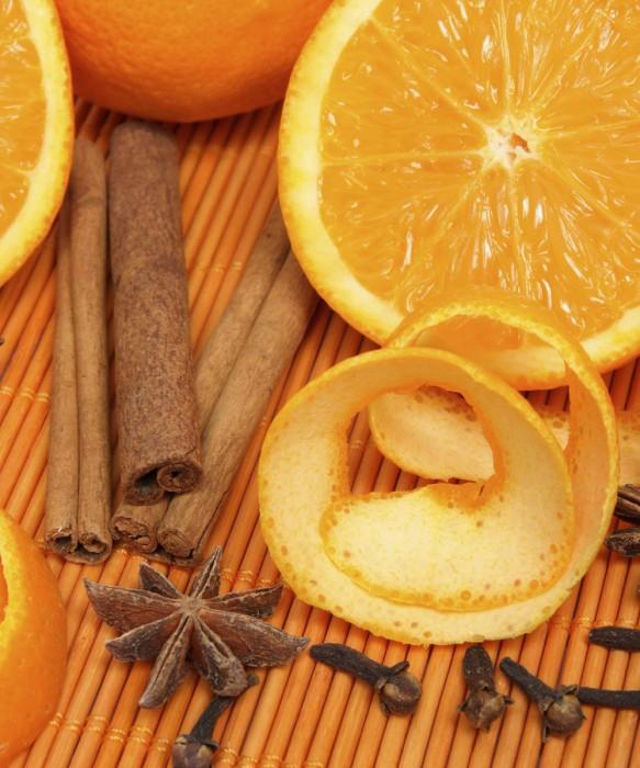Orange Clove Scented Candle