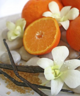 Orange Vanilla Scented Candle