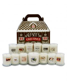 Scented candle advent calendar from Sierra Mountain Candle Co