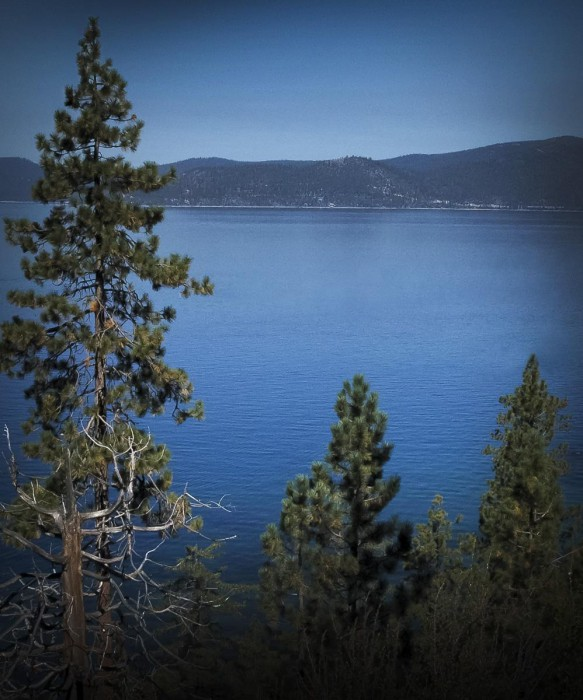 Lake Tahoe Blue Scented Candle
