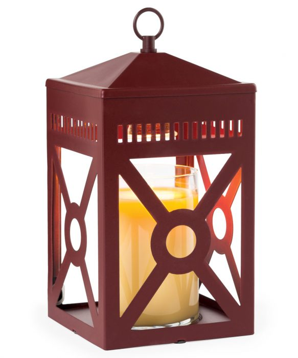 Mission Top Down Candle Warmer - Brick Red